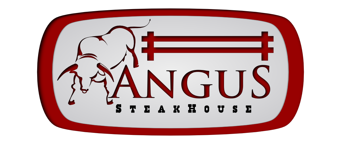 Logo Design by whoosef - Entry No. 136 in the Logo Design Contest Imaginative Custom Design for Angus Steakhouse.