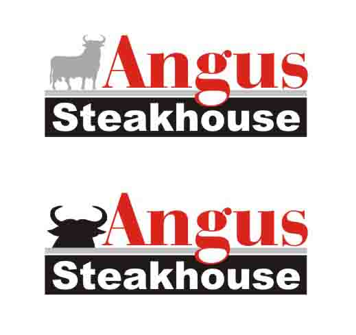 Logo Design by Private User - Entry No. 141 in the Logo Design Contest Imaginative Custom Design for Angus Steakhouse.