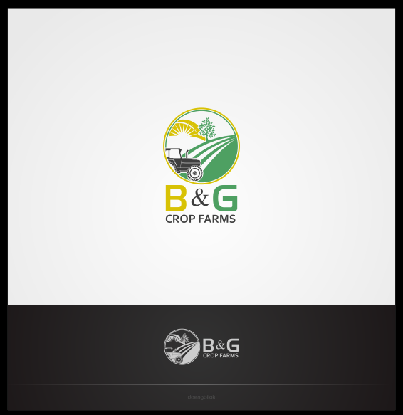 Logo Design by Private User - Entry No. 9 in the Logo Design Contest Artistic Logo Design for B & G Crop Farms.