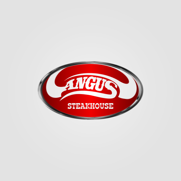 Logo Design by Private User - Entry No. 150 in the Logo Design Contest Imaginative Custom Design for Angus Steakhouse.