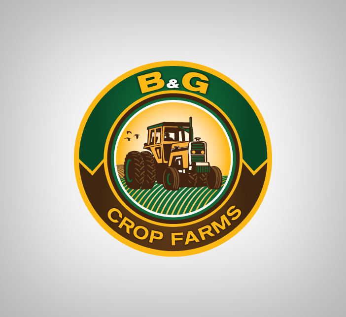 Logo Design by nausigeo - Entry No. 10 in the Logo Design Contest Artistic Logo Design for B & G Crop Farms.