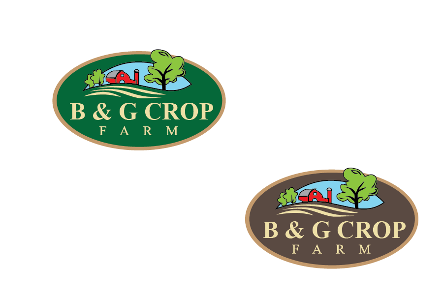 Logo Design by Muhammad Moeen - Entry No. 11 in the Logo Design Contest Artistic Logo Design for B & G Crop Farms.