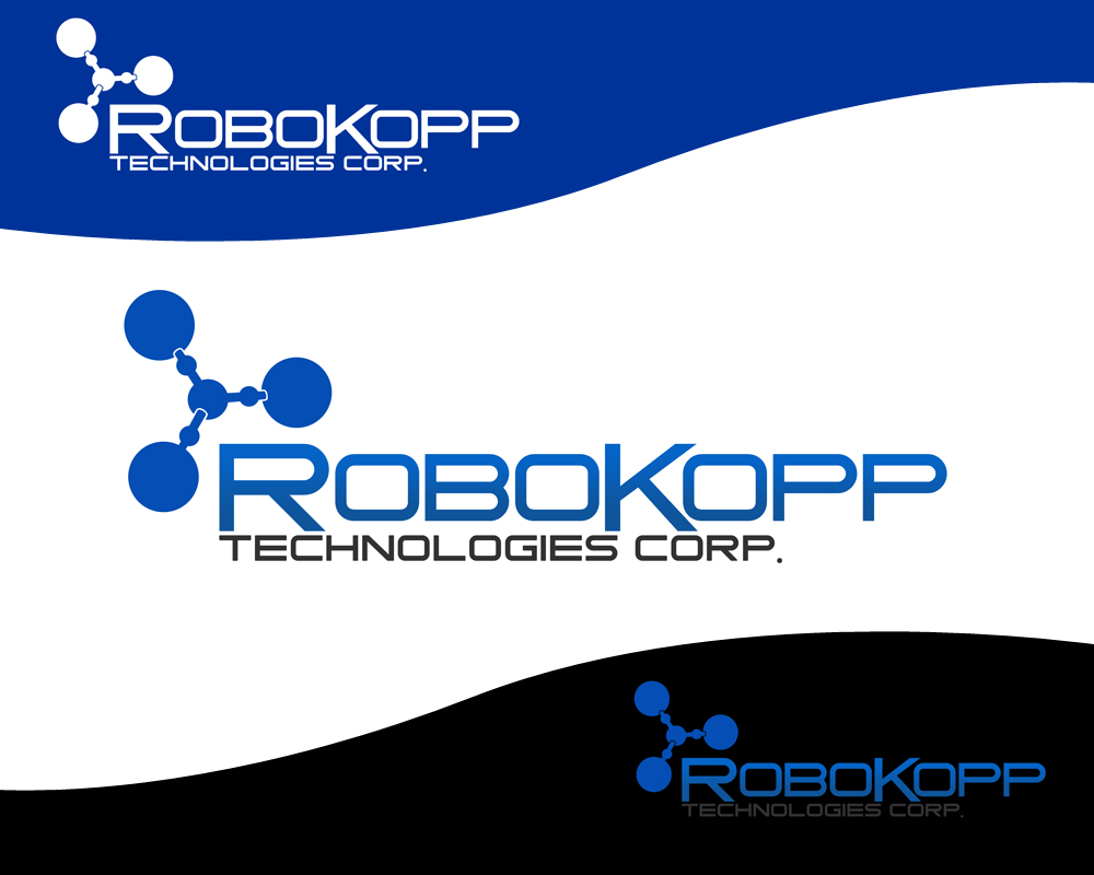 Logo Design by Private User - Entry No. 68 in the Logo Design Contest New Logo Design for Robokopp Technologies Corp..