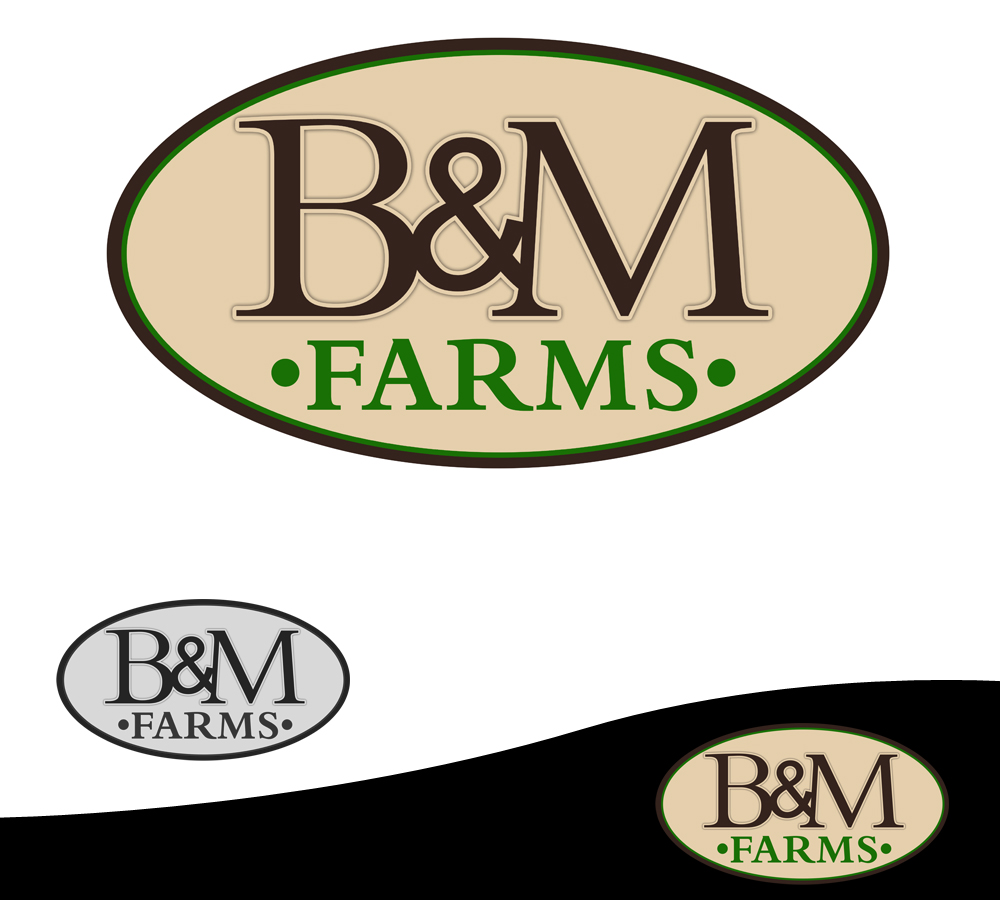 Logo Design by Private User - Entry No. 20 in the Logo Design Contest Creative Logo Design for B & M Farms, LLC.