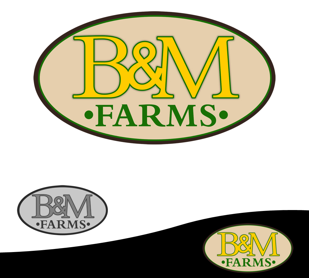 Logo Design by Robert Turla - Entry No. 21 in the Logo Design Contest Creative Logo Design for B & M Farms, LLC.