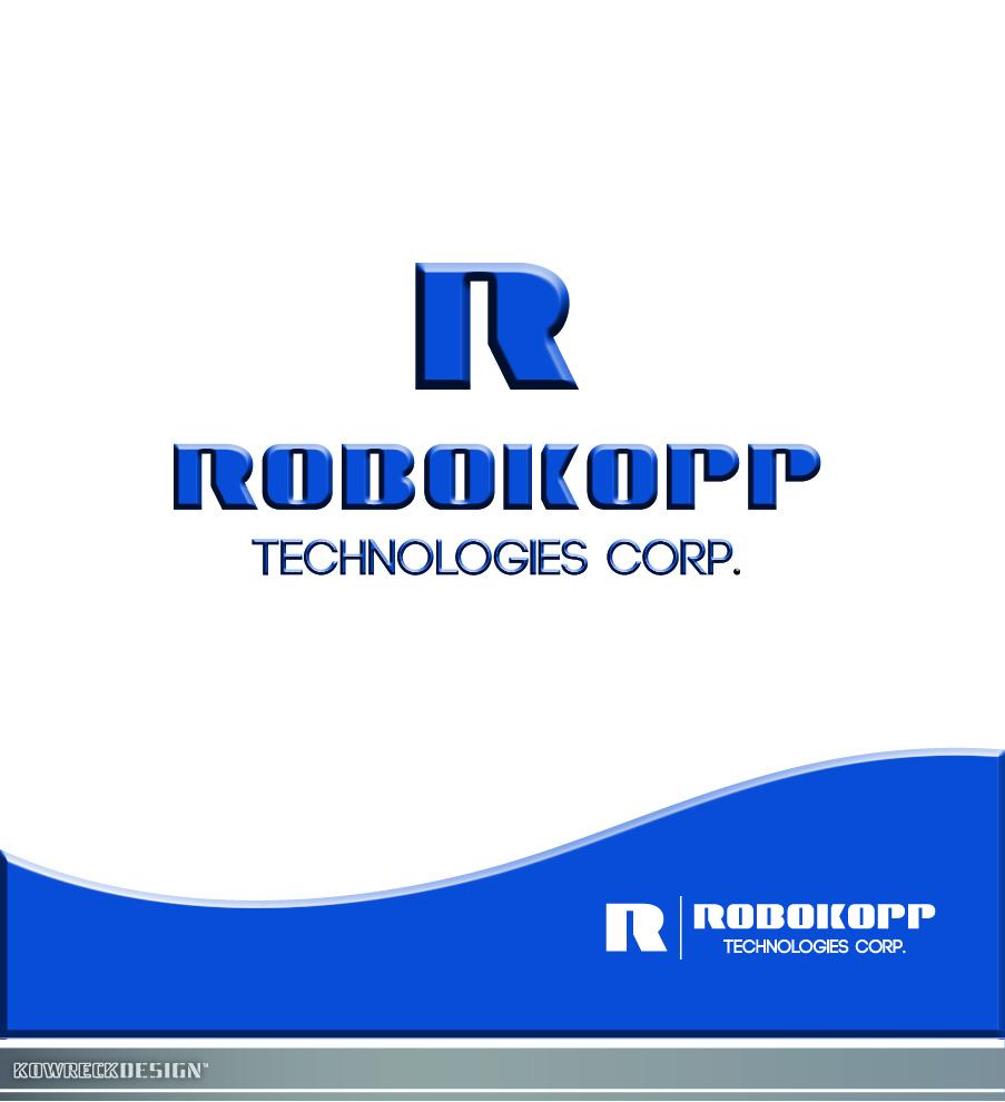 Logo Design by kowreck - Entry No. 73 in the Logo Design Contest New Logo Design for Robokopp Technologies Corp..