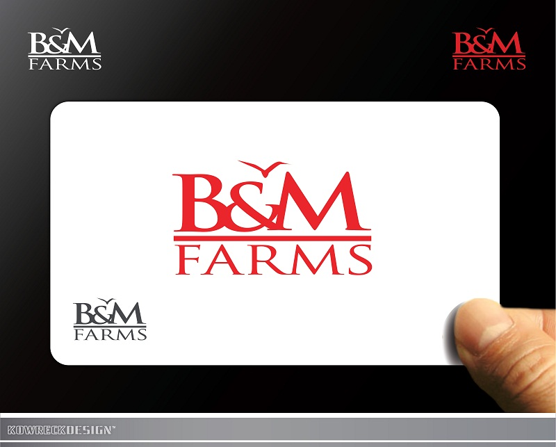 Logo Design by kowreck - Entry No. 24 in the Logo Design Contest Creative Logo Design for B & M Farms, LLC.