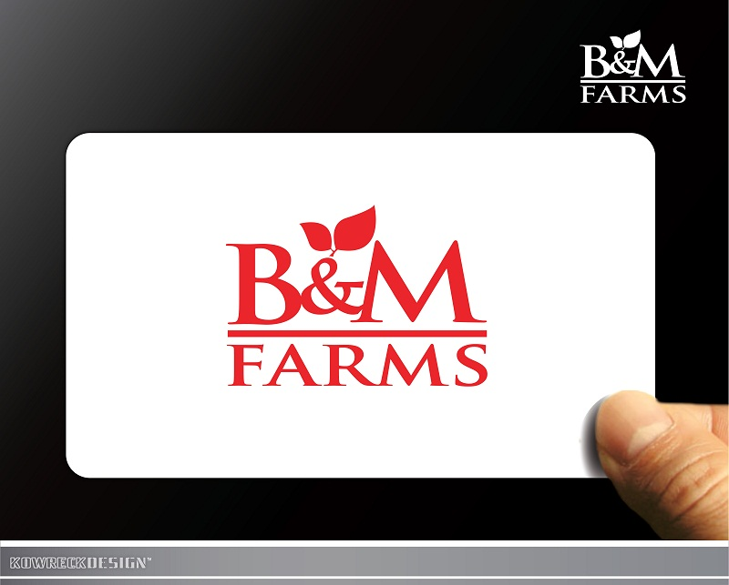 Logo Design by kowreck - Entry No. 25 in the Logo Design Contest Creative Logo Design for B & M Farms, LLC.
