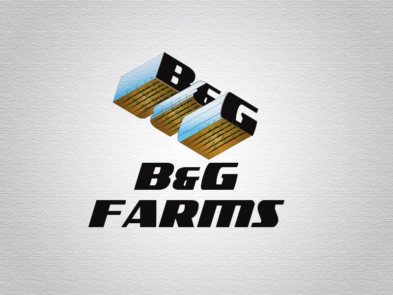 Logo Design by Mythos Designs - Entry No. 13 in the Logo Design Contest Artistic Logo Design for B & G Crop Farms.