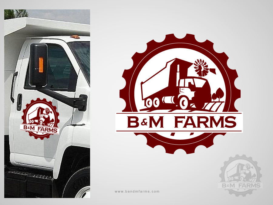 Logo Design by jpbituin - Entry No. 30 in the Logo Design Contest Creative Logo Design for B & M Farms, LLC.