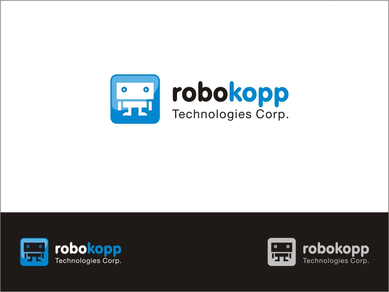 Logo Design by RED HORSE design studio - Entry No. 84 in the Logo Design Contest New Logo Design for Robokopp Technologies Corp..