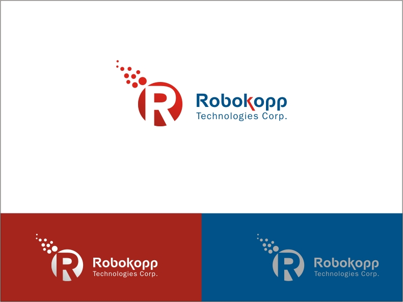 Logo Design by RED HORSE design studio - Entry No. 93 in the Logo Design Contest New Logo Design for Robokopp Technologies Corp..
