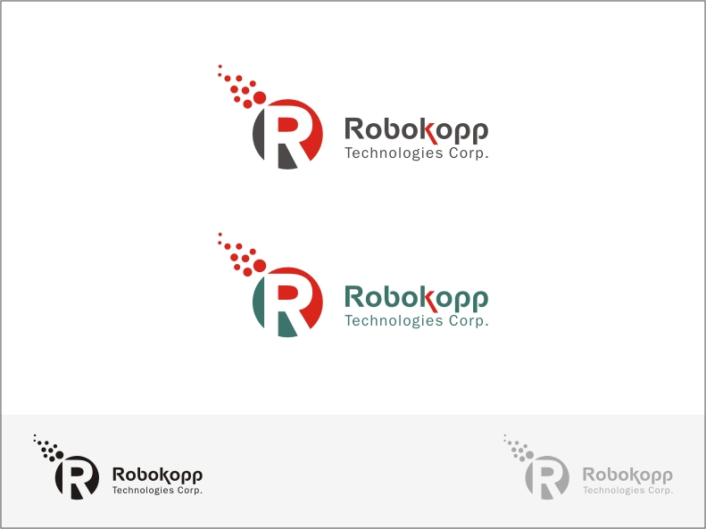 Logo Design by RED HORSE design studio - Entry No. 94 in the Logo Design Contest New Logo Design for Robokopp Technologies Corp..