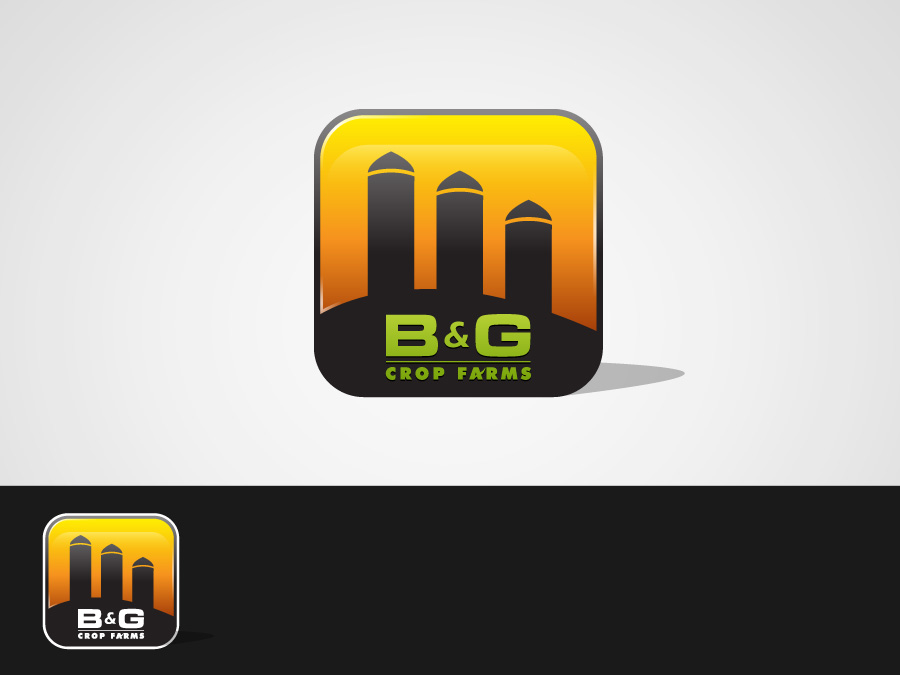 Logo Design by jpbituin - Entry No. 15 in the Logo Design Contest Artistic Logo Design for B & G Crop Farms.