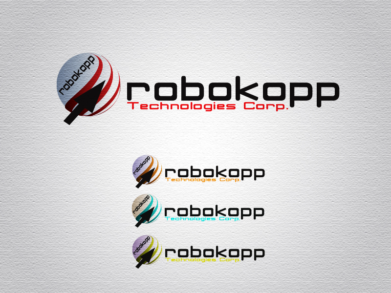 Logo Design by Mythos Designs - Entry No. 97 in the Logo Design Contest New Logo Design for Robokopp Technologies Corp..