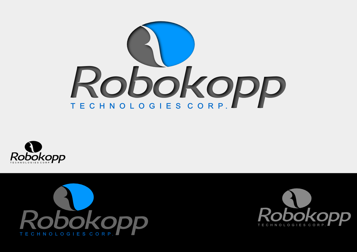 Logo Design by whoosef - Entry No. 98 in the Logo Design Contest New Logo Design for Robokopp Technologies Corp..