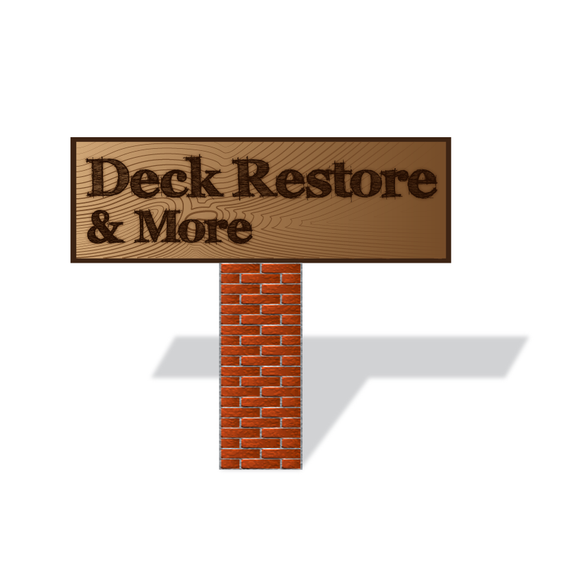 Logo Design by guerreroide - Entry No. 52 in the Logo Design Contest Deck Restore & More.