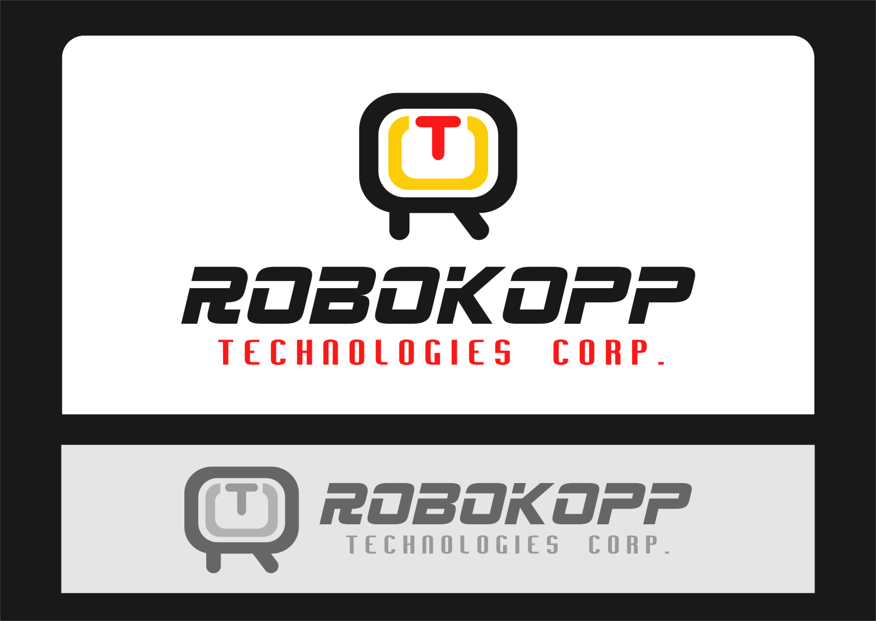 Logo Design by RasYa Muhammad Athaya - Entry No. 99 in the Logo Design Contest New Logo Design for Robokopp Technologies Corp..