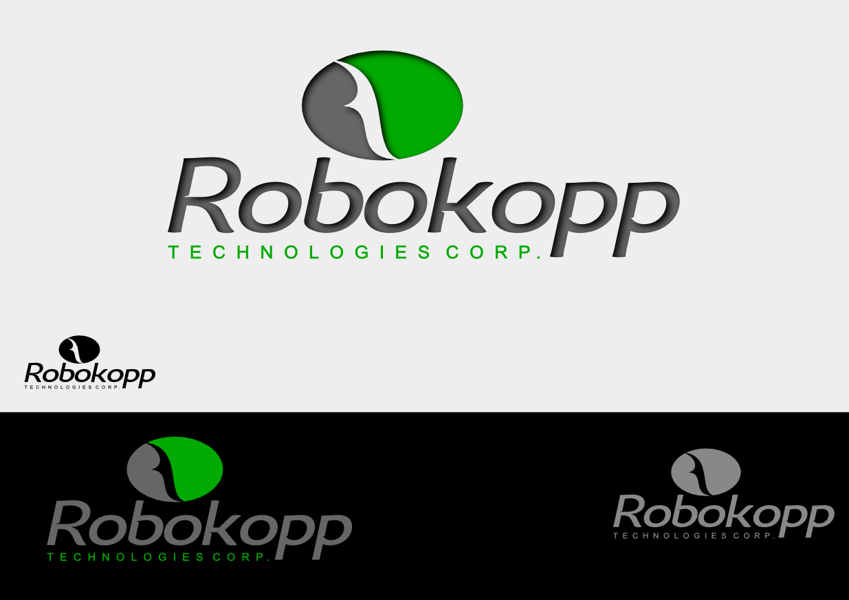 Logo Design by whoosef - Entry No. 101 in the Logo Design Contest New Logo Design for Robokopp Technologies Corp..