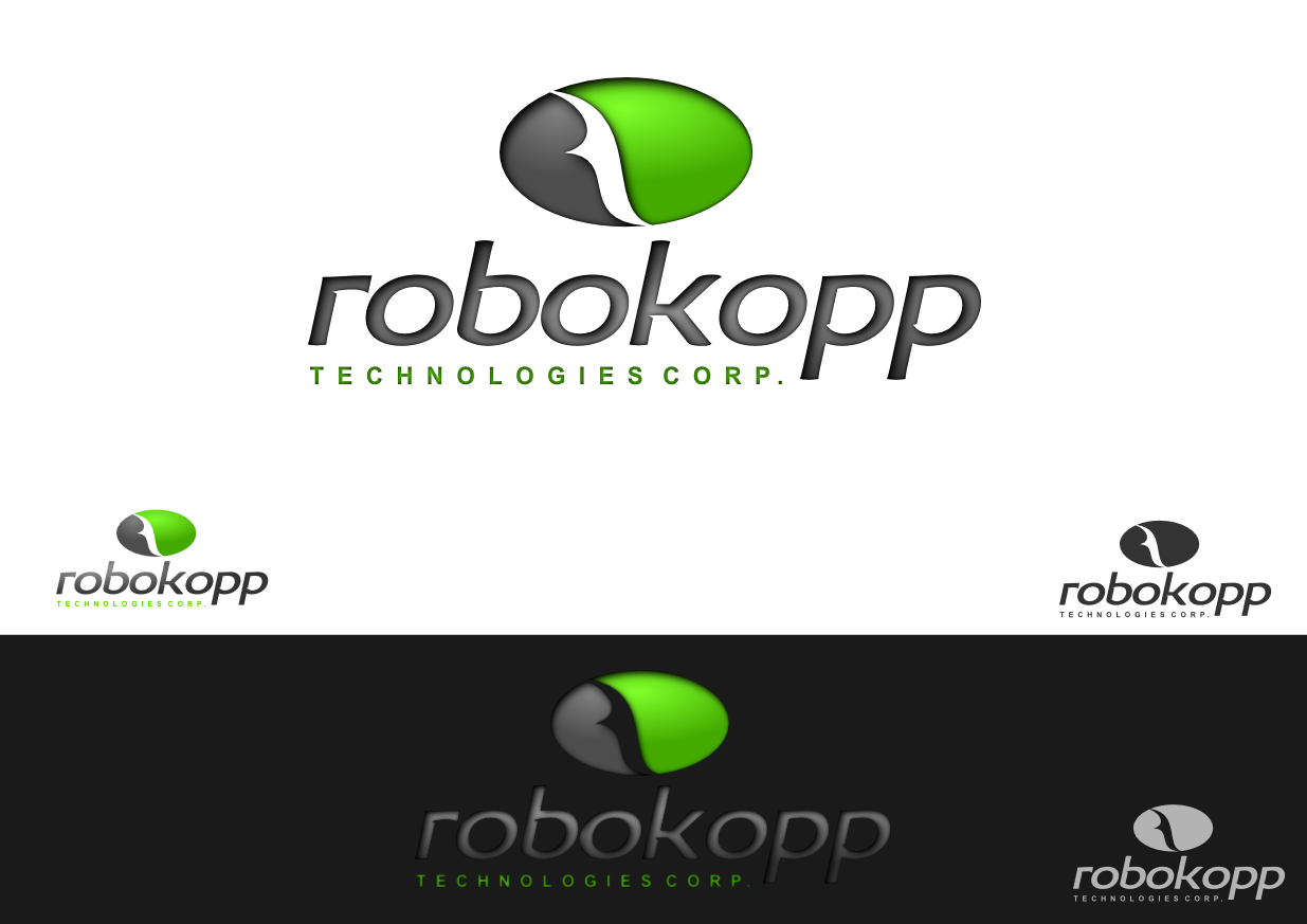 Logo Design by whoosef - Entry No. 102 in the Logo Design Contest New Logo Design for Robokopp Technologies Corp..