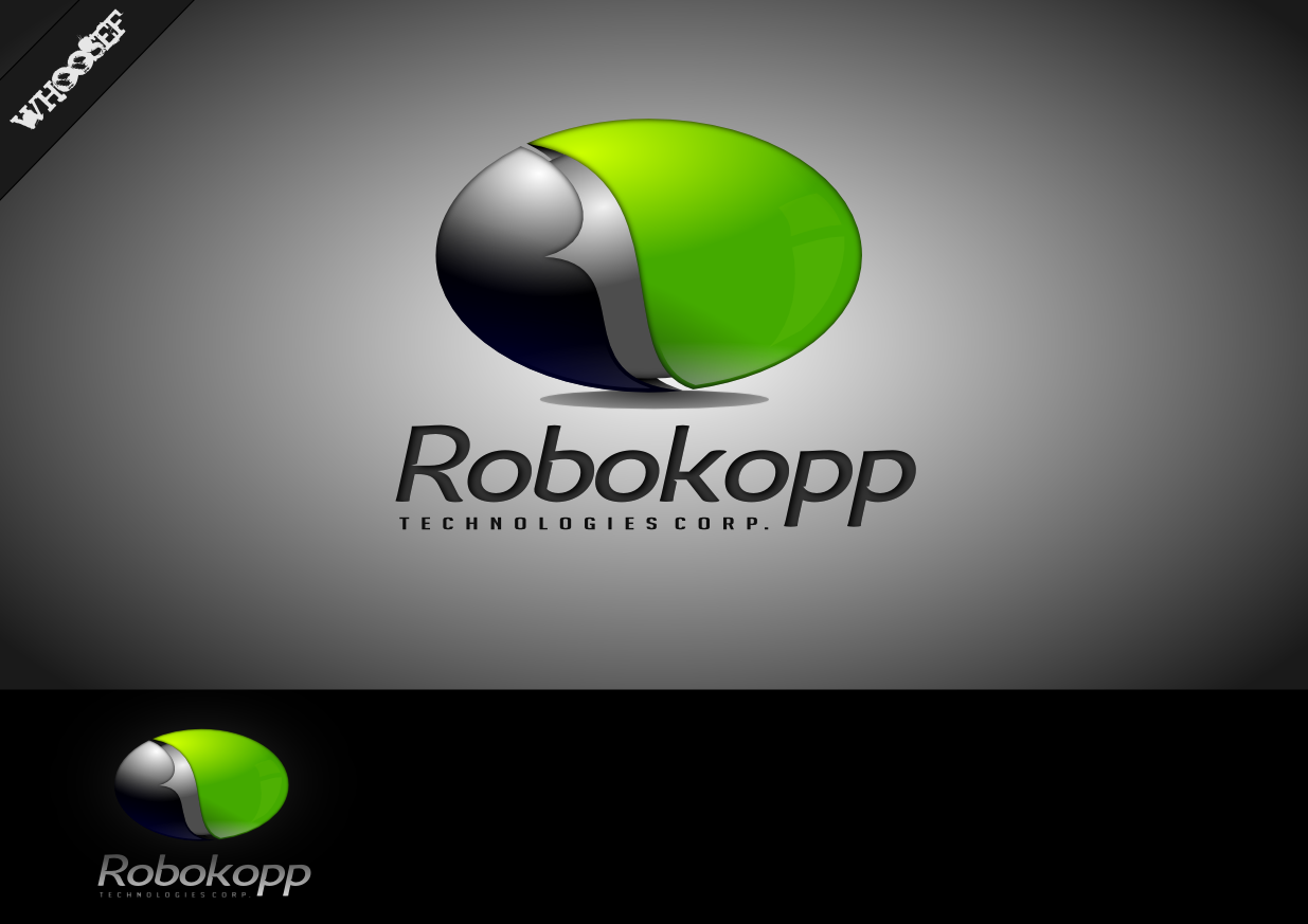 Logo Design by whoosef - Entry No. 113 in the Logo Design Contest New Logo Design for Robokopp Technologies Corp..