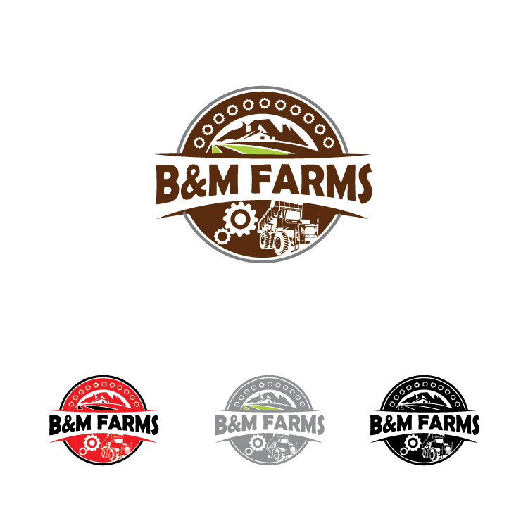 Logo Design by lagalag - Entry No. 33 in the Logo Design Contest Creative Logo Design for B & M Farms, LLC.