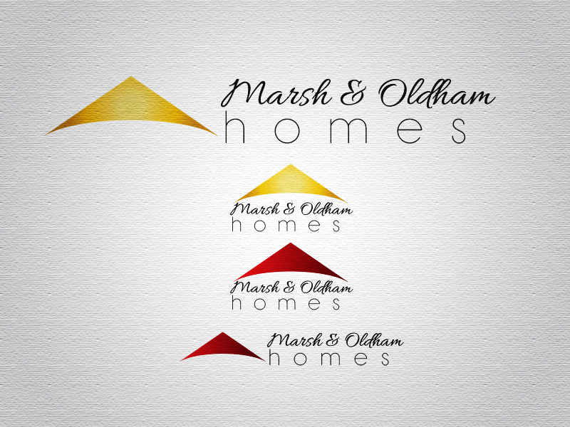 Logo Design by Mythos Designs - Entry No. 2 in the Logo Design Contest Artistic Logo Design for Marsh & Oldham Homes.