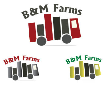 Logo Design by Shab Great - Entry No. 34 in the Logo Design Contest Creative Logo Design for B & M Farms, LLC.