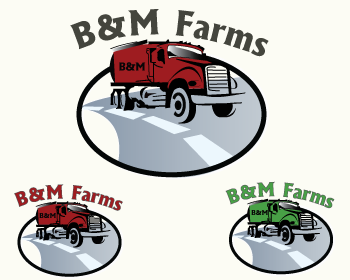 Logo Design by Shab Great - Entry No. 35 in the Logo Design Contest Creative Logo Design for B & M Farms, LLC.