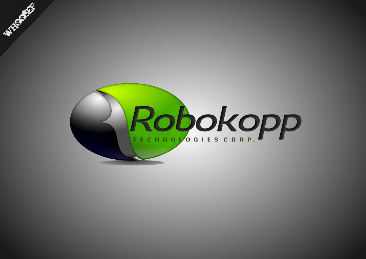 Logo Design by whoosef - Entry No. 119 in the Logo Design Contest New Logo Design for Robokopp Technologies Corp..