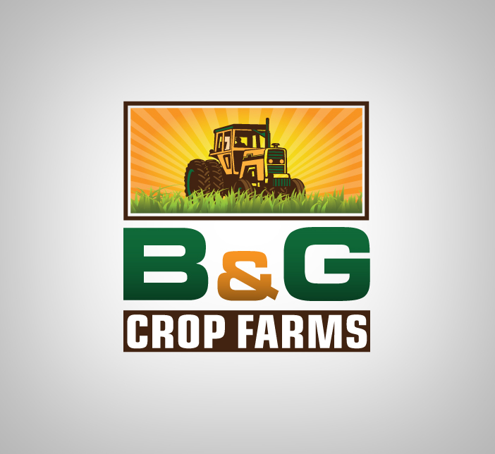 Logo Design by nausigeo - Entry No. 19 in the Logo Design Contest Artistic Logo Design for B & G Crop Farms.