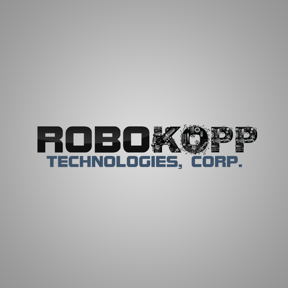 Logo Design by omARTist - Entry No. 124 in the Logo Design Contest New Logo Design for Robokopp Technologies Corp..