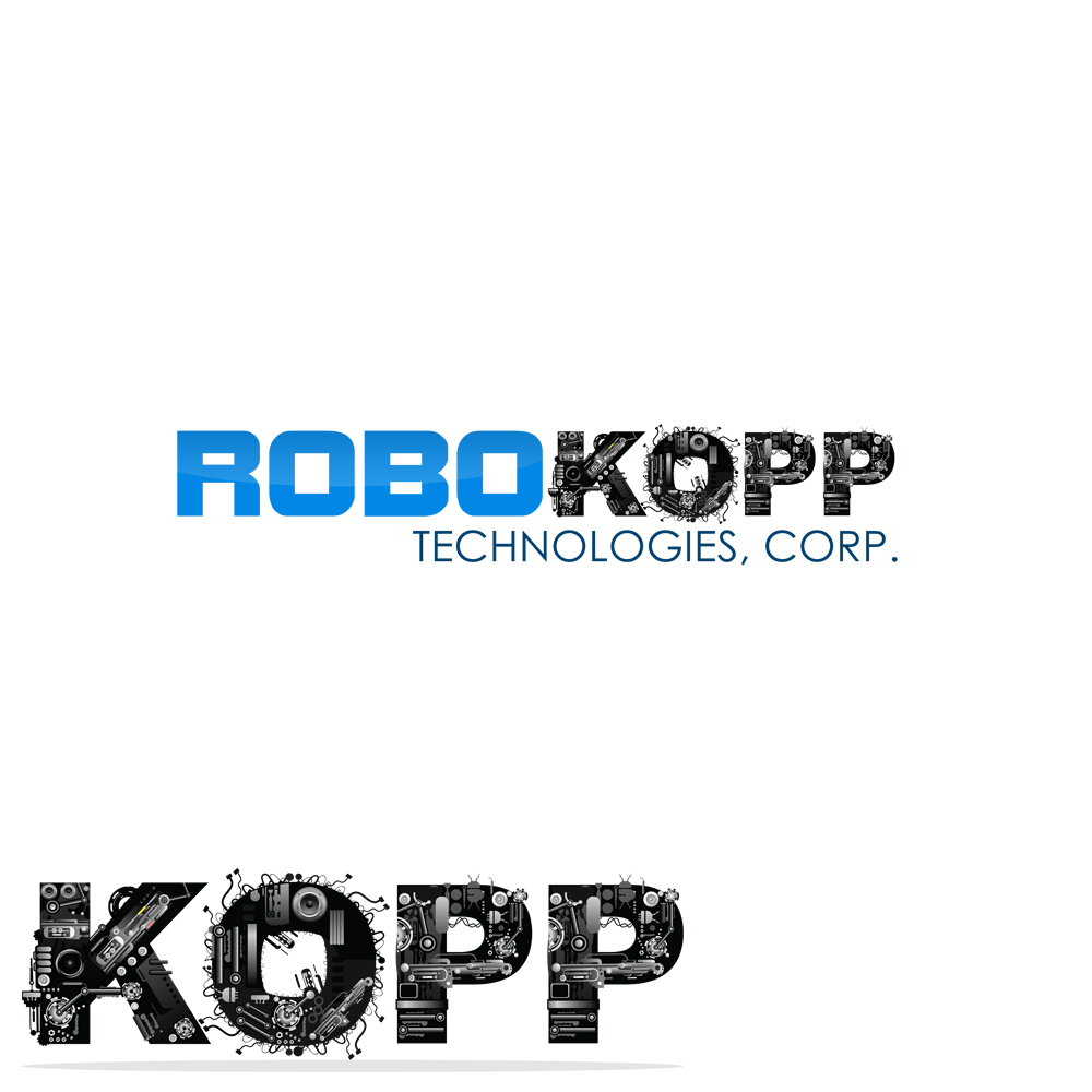 Logo Design by omARTist - Entry No. 127 in the Logo Design Contest New Logo Design for Robokopp Technologies Corp..