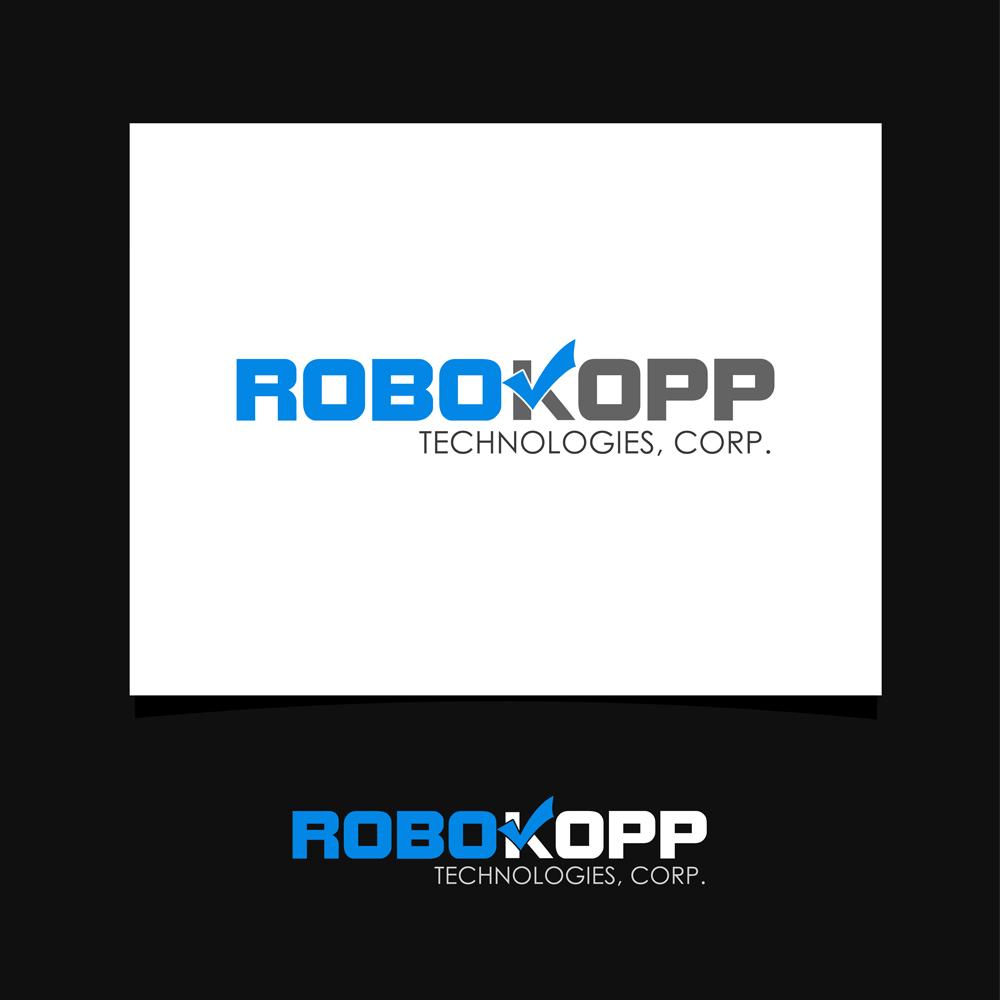 Logo Design by omARTist - Entry No. 128 in the Logo Design Contest New Logo Design for Robokopp Technologies Corp..