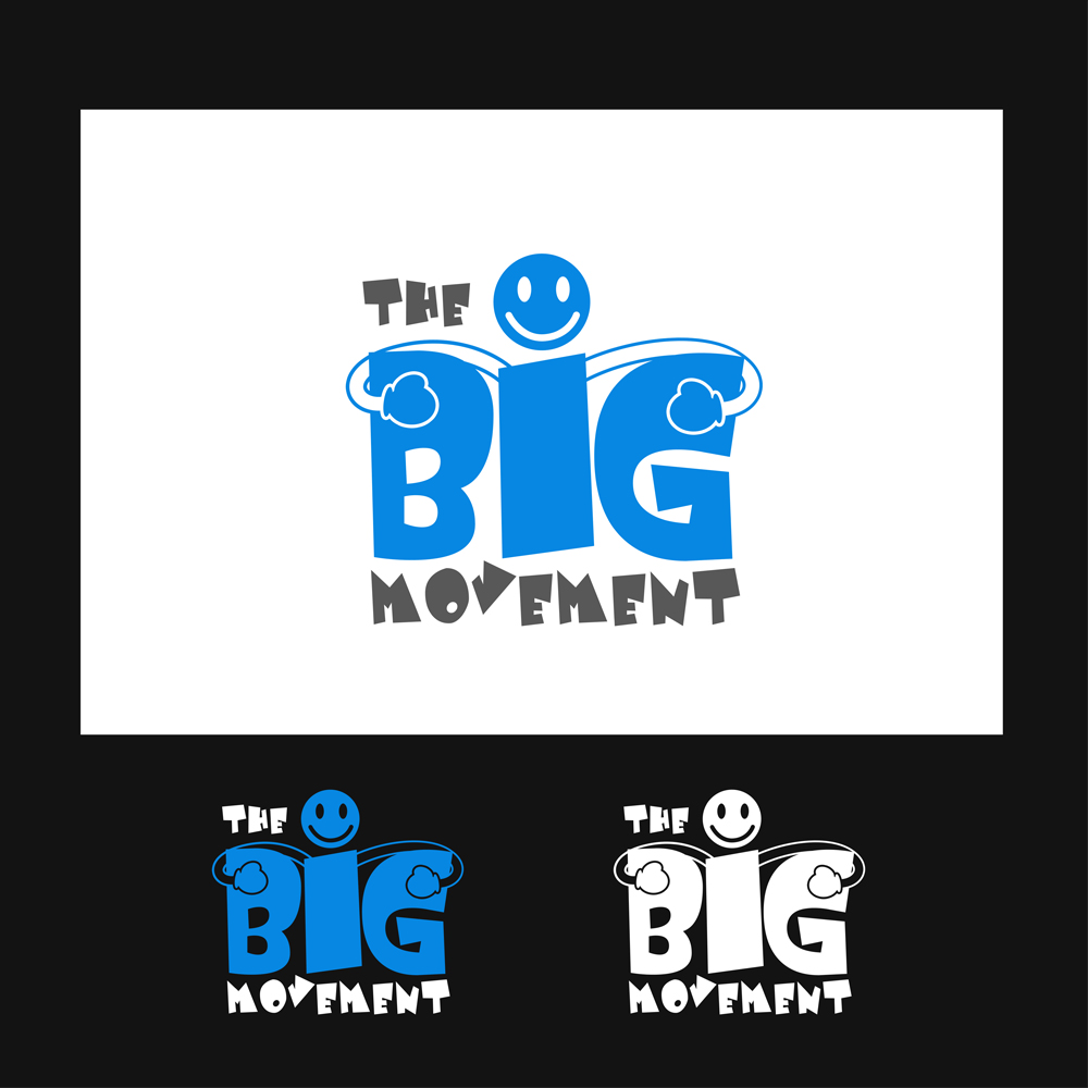 Logo Design by omARTist - Entry No. 2 in the Logo Design Contest Warm, Fun & Friendly Logo Design for BIG UK.