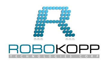 Logo Design by Mobin Asghar - Entry No. 129 in the Logo Design Contest New Logo Design for Robokopp Technologies Corp..