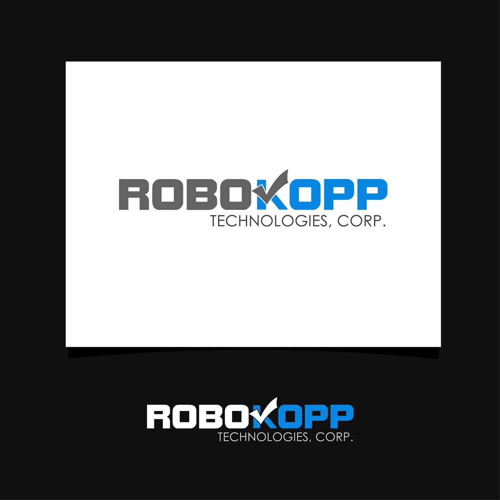 Logo Design by omARTist - Entry No. 131 in the Logo Design Contest New Logo Design for Robokopp Technologies Corp..