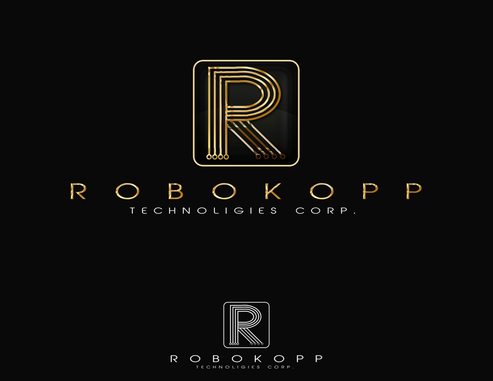 Logo Design by Juan_Kata - Entry No. 133 in the Logo Design Contest New Logo Design for Robokopp Technologies Corp..