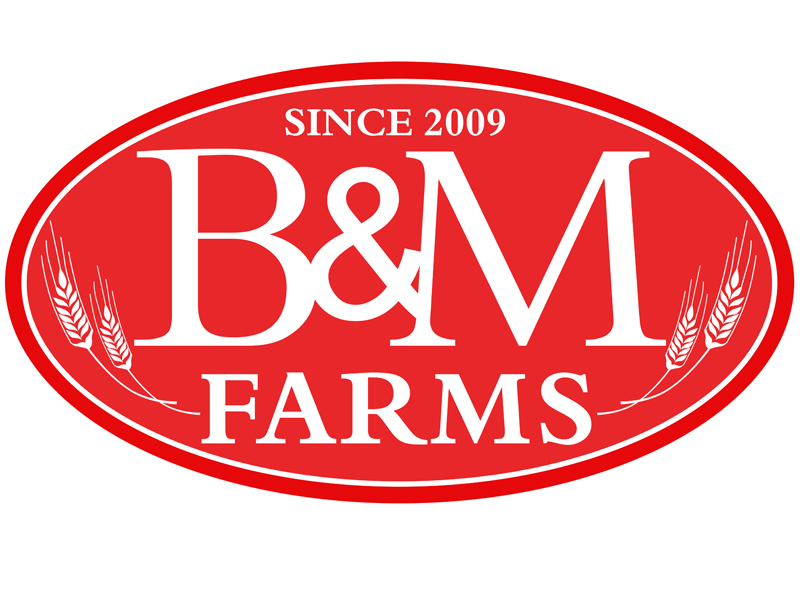 Logo Design by Robert Turla - Entry No. 42 in the Logo Design Contest Creative Logo Design for B & M Farms, LLC.