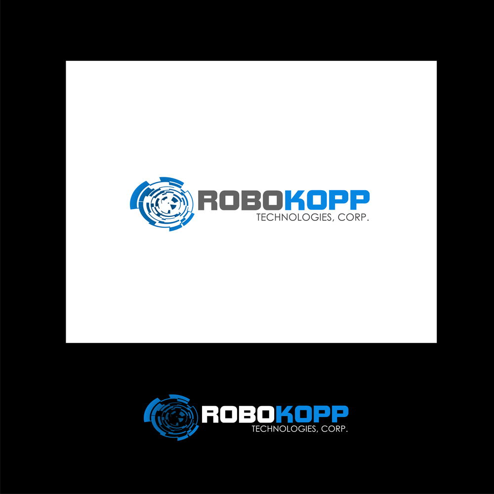 Logo Design by omARTist - Entry No. 134 in the Logo Design Contest New Logo Design for Robokopp Technologies Corp..