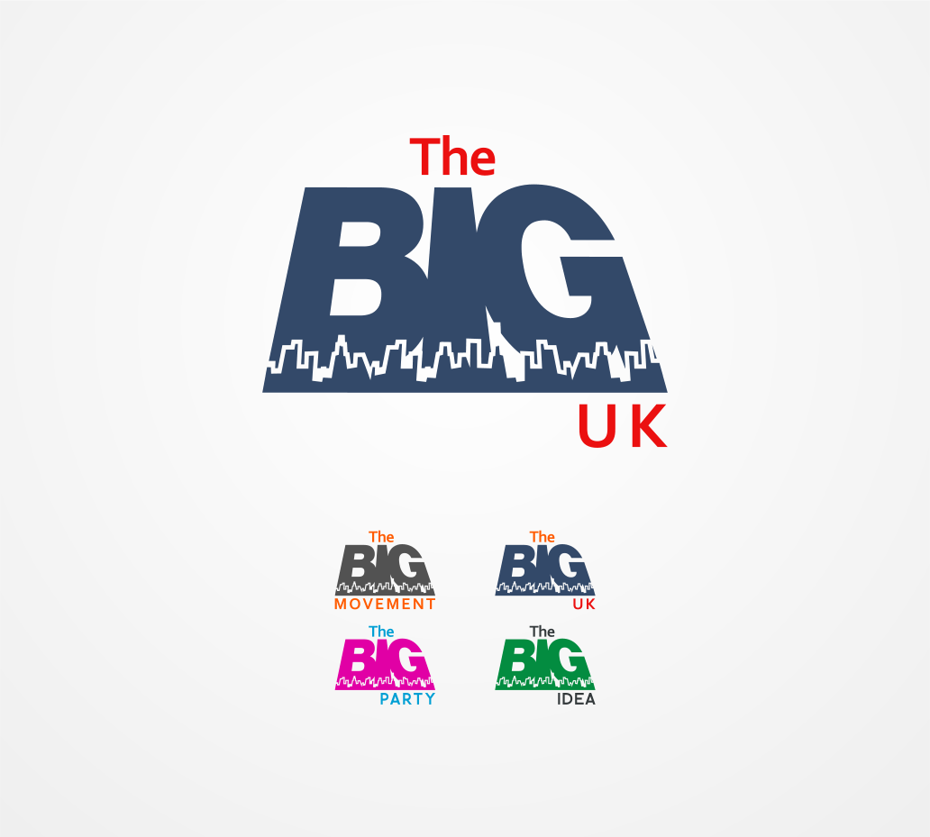 Logo Design by Jorge Sardon - Entry No. 6 in the Logo Design Contest Warm, Fun & Friendly Logo Design for BIG UK.