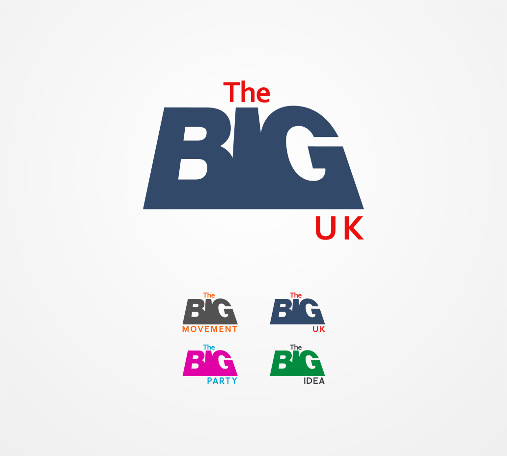 Logo Design by Jorge Sardon - Entry No. 7 in the Logo Design Contest Warm, Fun & Friendly Logo Design for BIG UK.