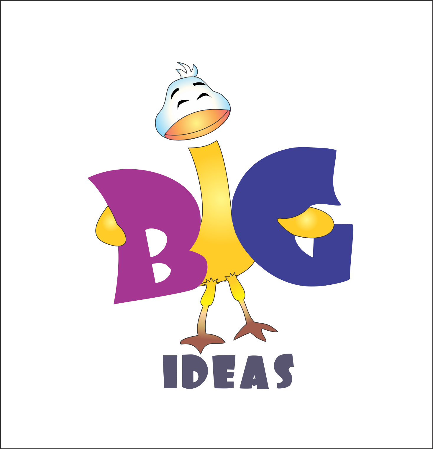 Logo Design by NEHA CHAVAN - Entry No. 8 in the Logo Design Contest Warm, Fun & Friendly Logo Design for BIG UK.
