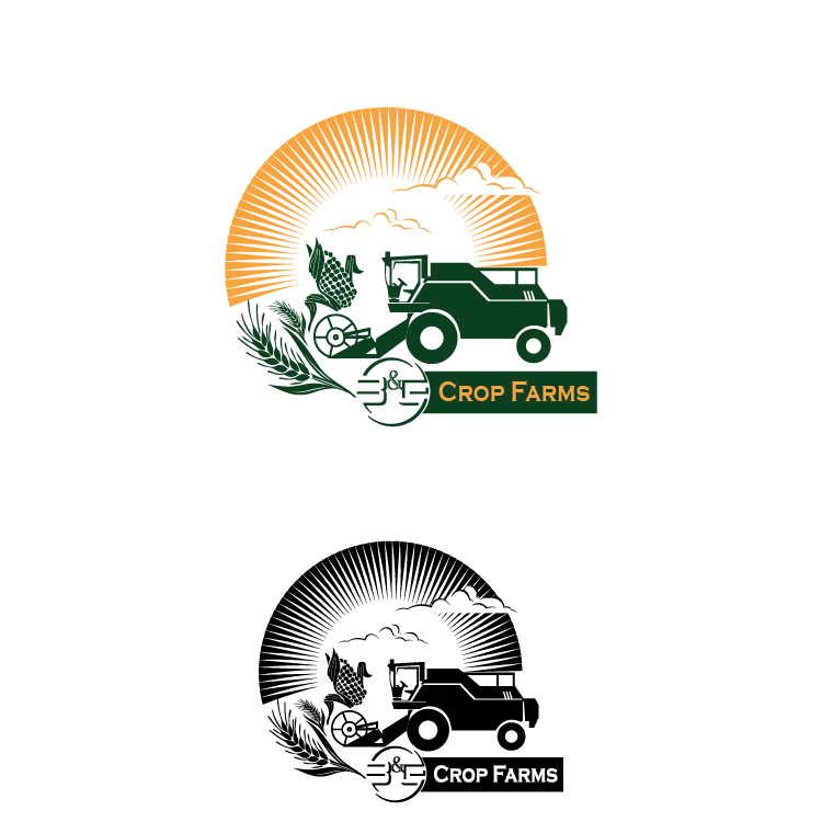 Logo Design by lagalag - Entry No. 30 in the Logo Design Contest Artistic Logo Design for B & G Crop Farms.