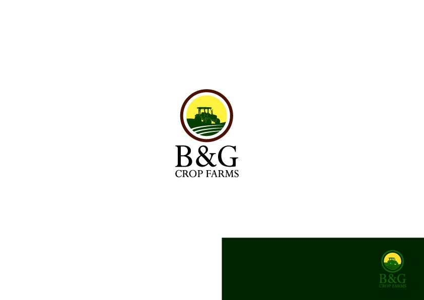 Logo Design by Osi Indra - Entry No. 31 in the Logo Design Contest Artistic Logo Design for B & G Crop Farms.