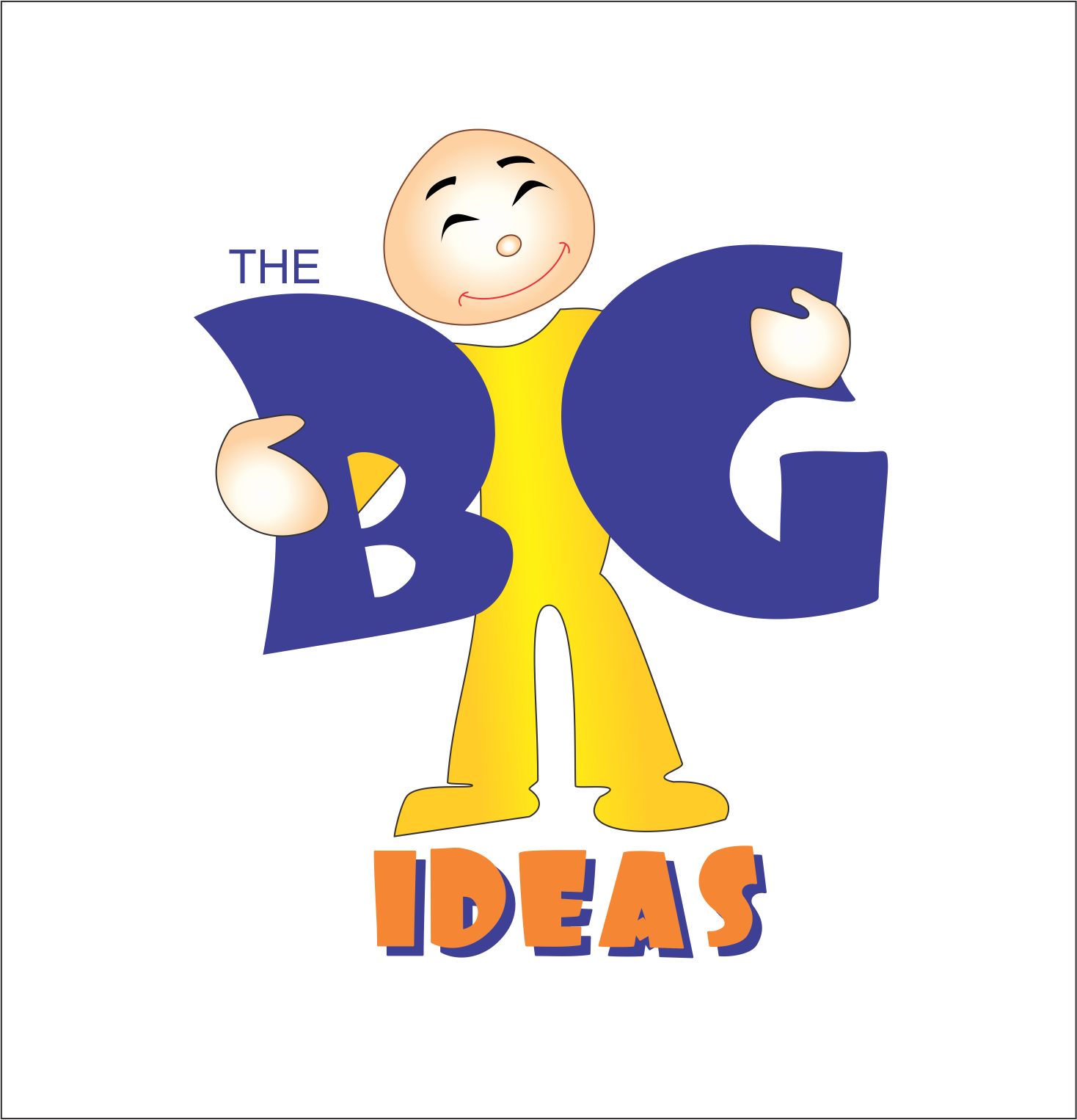 Logo Design by NEHA CHAVAN - Entry No. 9 in the Logo Design Contest Warm, Fun & Friendly Logo Design for BIG UK.