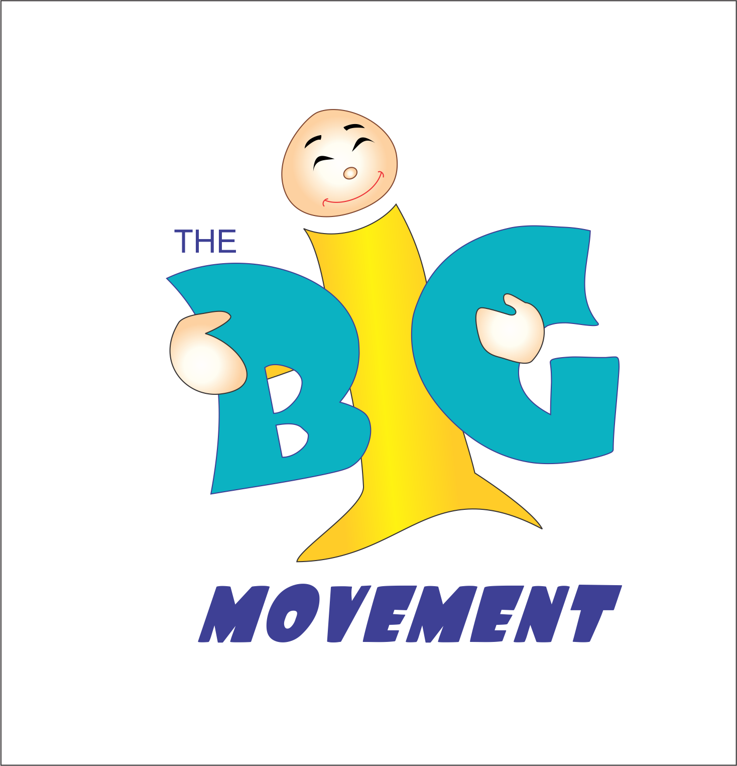 Logo Design by NEHA CHAVAN - Entry No. 10 in the Logo Design Contest Warm, Fun & Friendly Logo Design for BIG UK.