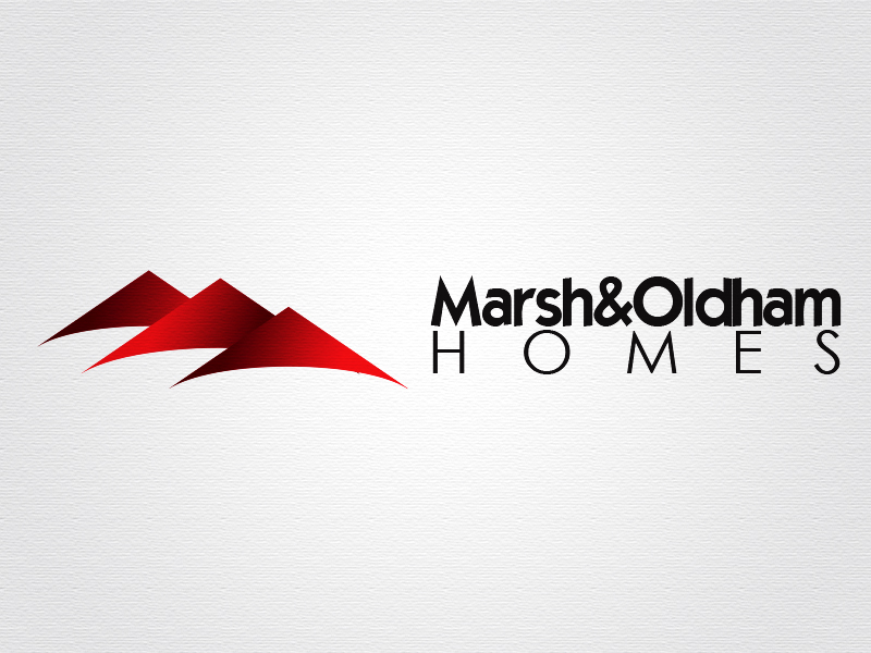 Logo Design by Mythos Designs - Entry No. 15 in the Logo Design Contest Artistic Logo Design for Marsh & Oldham Homes.