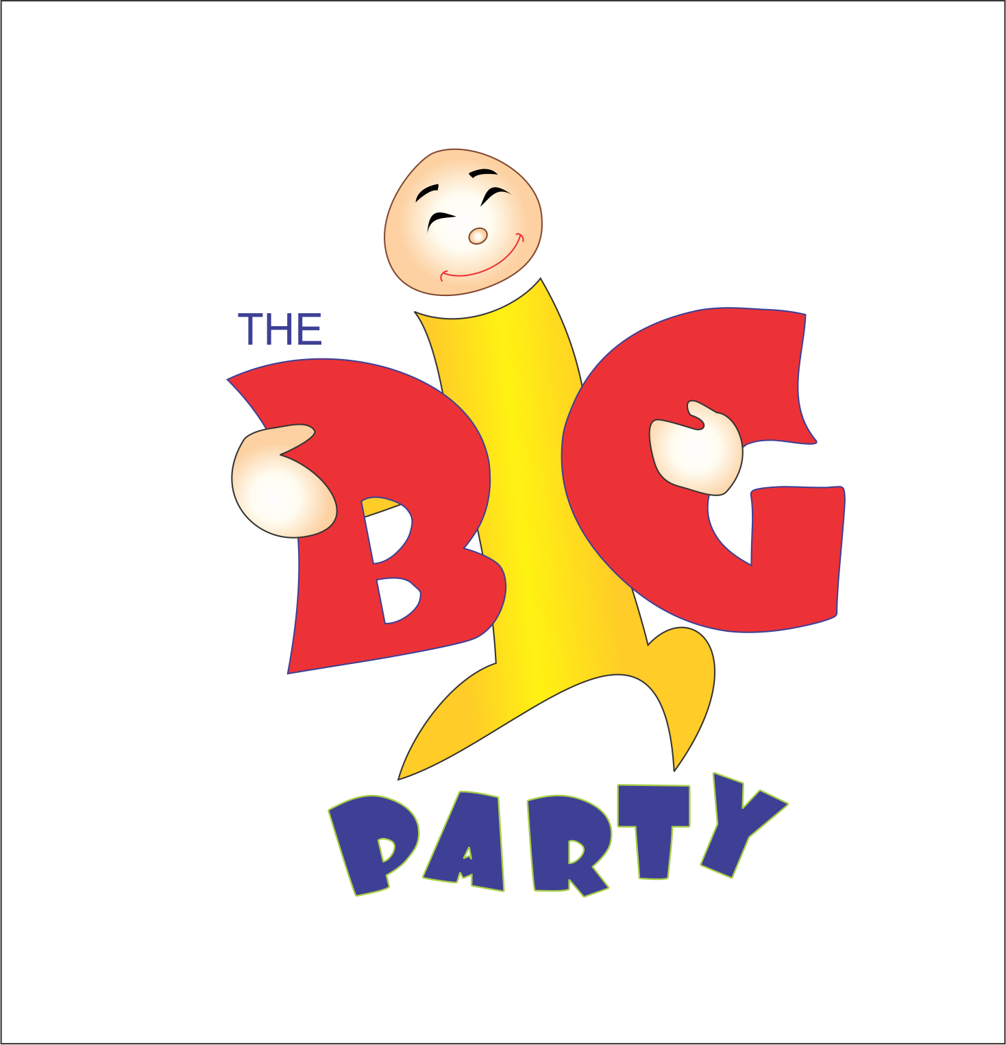 Logo Design by NEHA CHAVAN - Entry No. 11 in the Logo Design Contest Warm, Fun & Friendly Logo Design for BIG UK.