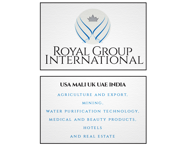 Business Card Design by Mythos Designs - Entry No. 2 in the Business Card Design Contest Royal Group International Business Card Design.
